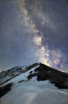 Mt. Jonen, Nagano, Japan .. Milky Way #InspiredTraveller #travel
