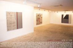 Artista: ISABEL FERRER; Exposición: 170 x 170 (2007).