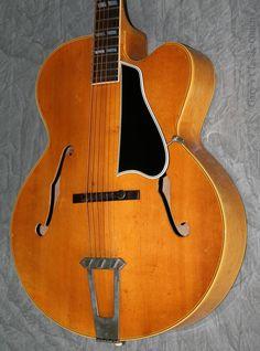 1950 Gibson L7-CN Blonde #vintageandrare #vandr #gibson #guitar #vintageguitar