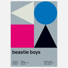 Beastie Boys, 1983 17x23.75, $35, now featured on Fab.
