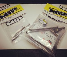 Be sure to took in Live at 2pm PST on Facebook for the product overview and opening of the final packed products including MIP 13.5 B64 Bundle Puck pack # 17050 and MIP Aluminum Layshafts  # 17030. #miponline #cheaterdrives