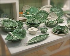 Cabbage Collection By Bordallo Pinheiro At Oikade