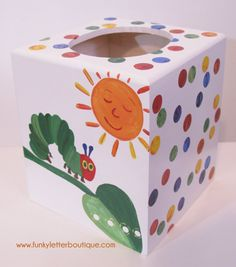 The+Very+Hungry+Caterpillar+Tissue+Box www.funkyletterboutique.com | kids décor |
