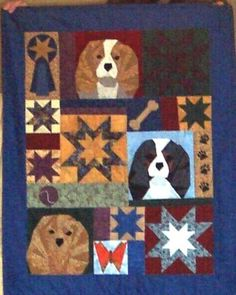 Love this Cavalier King Charles Quilt