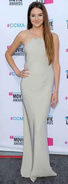 Shailene Woodley In Calvin Klein 2012