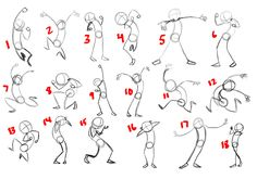 "Here I am halfway through Week 3 and I need your help, dear readers! Part of my homework this week is to draw some poses that convey ""excit..."