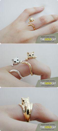me gusta el gatito de anillo....miauuu!