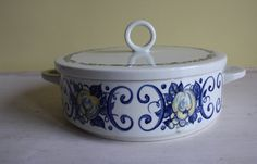 Yes! Let's go Cadiz this year! Lovely casserole by Villeroy and Boch on Etsy https://www.etsy.com/nl/listing/239905906/cadiz-design-casserole-dish-with-lid-by