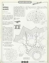 Album Archive - Magic Crochet n° 64 Crochet Doily Patterns, Crochet Chart, Thread Crochet, Crochet Motif, Irish Crochet, Crochet Doilies, Crochet Flowers, Crochet Round, Crochet Christmas Ornaments
