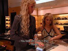 t Paris Hilton and Nicole Richie said on 'The Simple Life' photos) – theBERRY Paris Hilton Quotes, Paris And Nicole, Simple Life Quotes, Nicole Richie, Oui Oui, Rich Girl, Mood Pics, Reaction Pictures, 2000s