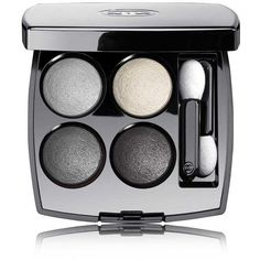 CHANEL Multi-Effect Quadra Eyeshadow - Colour TissÉ Smoky (750.610 IDR) ❤ liked on Polyvore featuring beauty products, makeup, eye makeup, eyeshadow, beauty, chanel, chanel eye shadow, chanel eye makeup, chanel eyeshadow and creamy eyeshadow