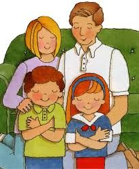 Image result for lds family praying clipart