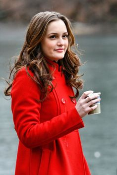 """Leighton Meester portrays the character of Blair Waldorf in the tv show """"Gossip Girl""""......"""