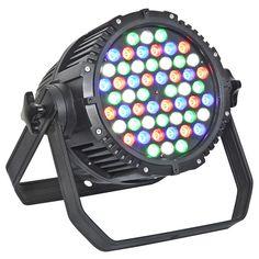 54 3W par light led dmx decoder rgbw for outdoor decorative uplights