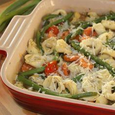 . Tortellini Casserole Recipe from Grandmothers Kitchen.