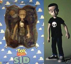 "Japan Medicom Toy Story Sid 9"" Vinyl Figure RARE"
