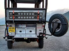 Special Land Rover Defender for Kenya Safari Park. Safari Jeep, Expedition Trailer, Best 4x4, Land Rover Defender 110, Land Rovers, Kenya, Offroad, Wheels, Rest