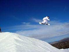 Snowboarding~fat air & soft powder. *(Utah)