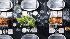 Raising the Bar | Martha Stewart … a casual beer-tasting party at home … complete with tap room inspired decor and gastropub-worthy grub