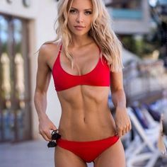 Fitness Girls for motivation Bikini Azul, The Bikini, Fitness Inspiration, Yoga Fitness, Fitness Models, Corpo Sexy, Hot Girls, Modelos Fitness, Model Training