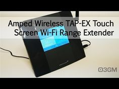 Amped Wireless TAP-R3 High Power Touch Screen AC1750 Wi-Fi Router - YouTube