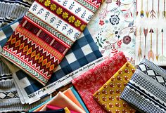 Maureen Cracknell soon to be released  Wild & Free Fabric Collection