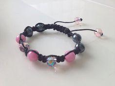"pink ""Audrey"" bracelet"