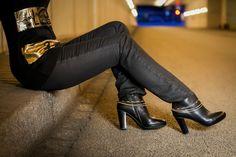 Notre bijou de bottes Johanna se marie à de nombreuses couleurs de chaussures