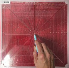 Quilting Freemotion Quilting Crosshair Square Tool