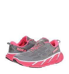quality design 99dca 7f7d9 HOKA CLIFTON 2 WOMEN Hoka Clifton, Wide Running Shoes, Half Marathon  Training, Lace