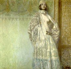 vardges surenyants paintings | Vardges Surenyants - Salomé, 1907