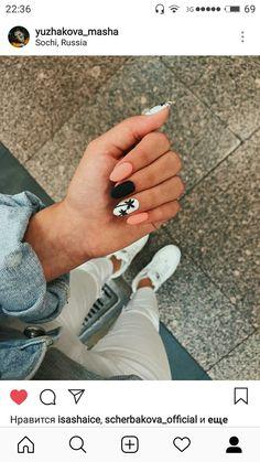 38 Nail Designs and Ideas for Coffin Acrylic Nails – Finger Pretties Aycrlic Nails, Matte Nails, Nail Manicure, Manicure Ideas, Summer Acrylic Nails, Best Acrylic Nails, Summer Nails, Stylish Nails, Trendy Nails