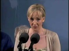 J.K. Rowling On The Benefits of Failure - I can clearly identify with this message.  Some of the benefits of failure are self-knowledge, determination, and perseverance.  Her advice - NEVER, EVER, EVER GIVE UP!  Move in another direction, maybe wait another day, but don't give up on yourself.  That's how I made it through university :)