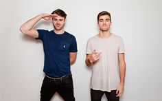 Download wallpapers The Chainsmokers, 4k, Alex Pall, Andrew Taggart, guys, celebrity, DJs