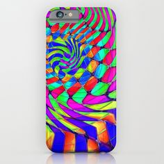 Tumbler #33 Trippy Psychedelic Optical Illusion Design by CAP iPhone & iPod Case
