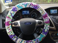 vera bradley - Heather - steering wheel cover #VeraBradley