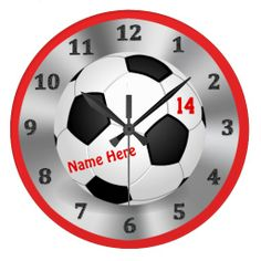 Cool Personalized Soccer Clock for Soccer Bedrooms we are given they also recommend where is the best to buyThis Deals          	Cool Personalized Soccer Clock for Soccer Bedrooms Review from Associated Store with this Deal...