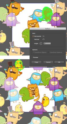 Create a Crazy Sticker Bombing Seamless Pattern in Adobe Illustrator