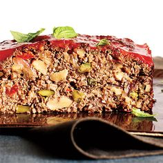 """Vegetarian """"Meat"""" Loaf from Cooking Light"""