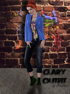 Clary's Outfit - Rayne's Factory