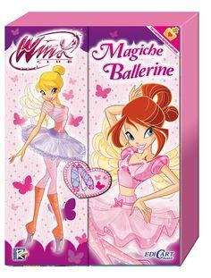 """¡¡Nuevo libro Winx Club """"Magiche Ballerine"""" en Italia!! http://poderdewinxclub.blogspot.com.ar/2013/12/nuevo-libro-winx-club-magiche-ballerine.html"""
