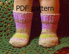 014 Knit socks from the toe up pattern for by Nannaspatterns, $4.25