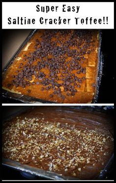 This is a very easy to follow recipe...with pictures!!! PR Friendly Mom Blogger -MomsReview4You: Saltine Cracker Toffee Recipe