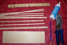 Dollhouse Wainscoting Tutorial