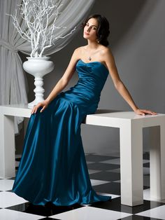 Ocean Blue Bridesmaid