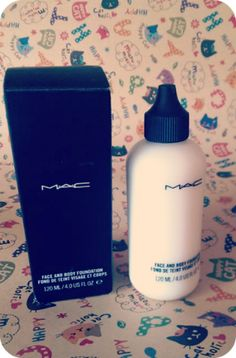 Hello Paleface: Mac Face and Body Foundation in White - a Review