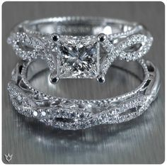 Engagement and wedding ring...gorgeous!!!
