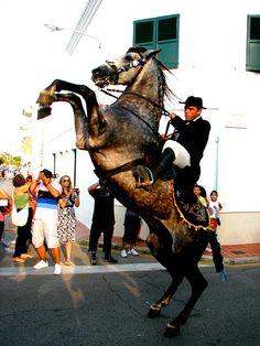 Festes de Sant Lluis  Menorca  Spain