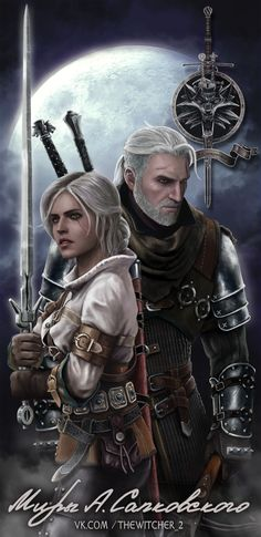 The Witcher fаnart, Dmitriy Solovyov on ArtStation at https://www.artstation.com/artwork/GkAe3