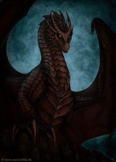 Black Dragon by ArkaEdri.deviantart.com